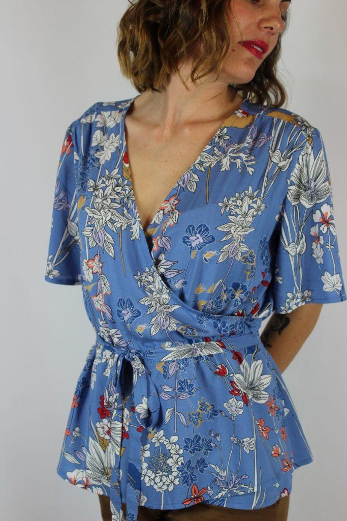 comprare on line 3cc21 64e7b Come trasformare la blusa Iole in un abito | Atelier Vicolo N.6